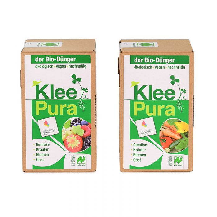 Kleepura Biodünger für Gemüse und Obst im Doppelpack