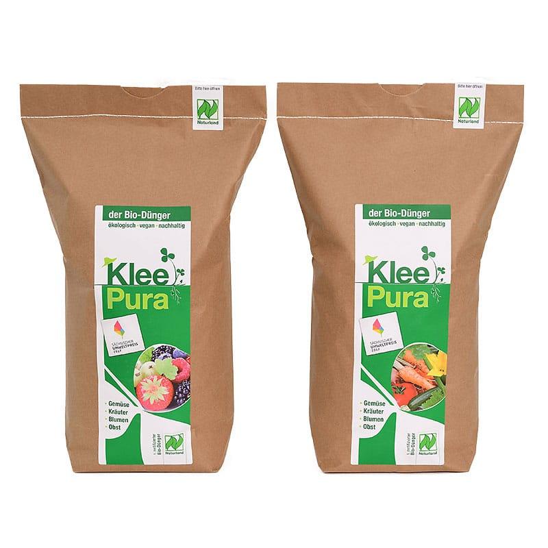 Kleepura Bio Dünger für Obst und Gemüse im Doppelpack